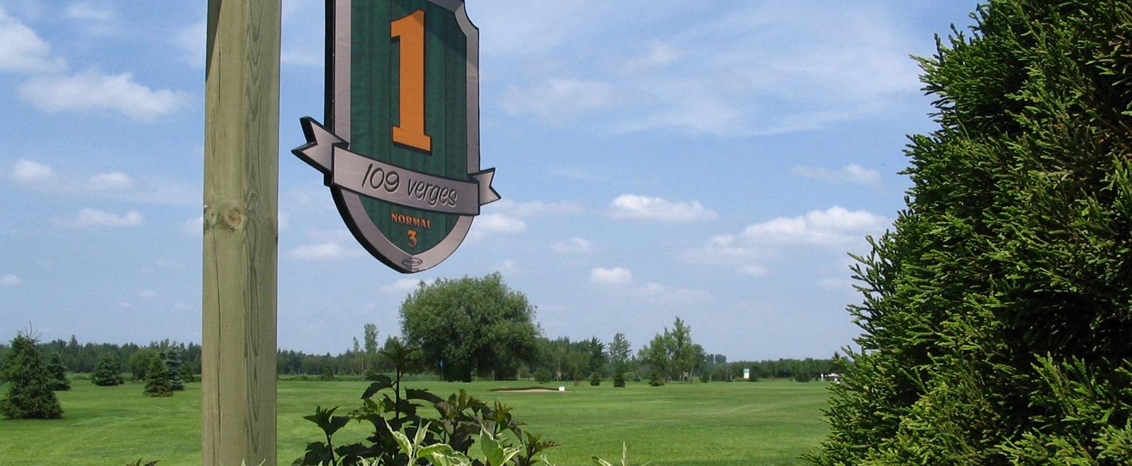 Golf Drummondville   Club de golf l'Émeraude Saint-Majorique-de-Graham