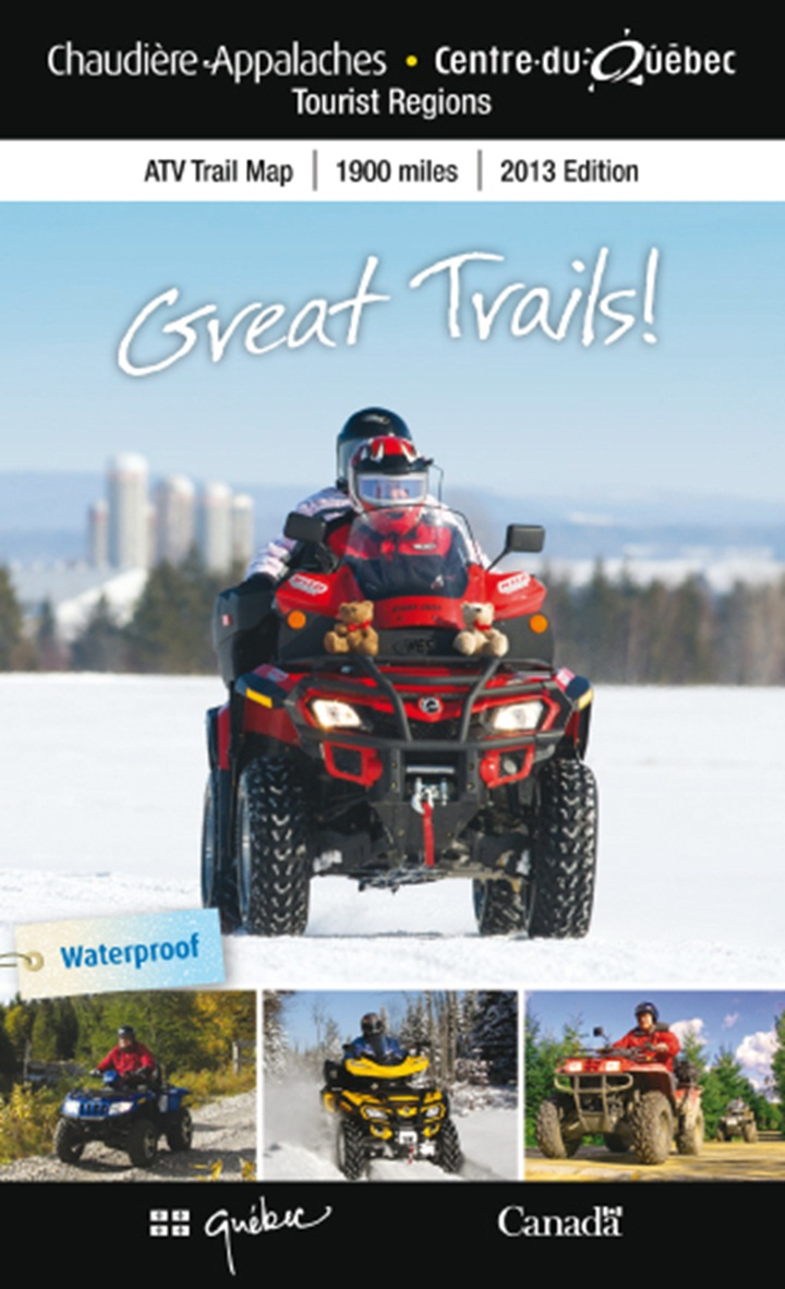 Cover ATV Trail Map