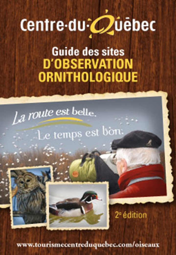 Cover Guide des sites d'observation ornithologique