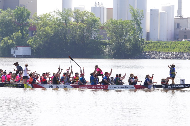 L'Épique Coupe de feu - Dragon boat racing