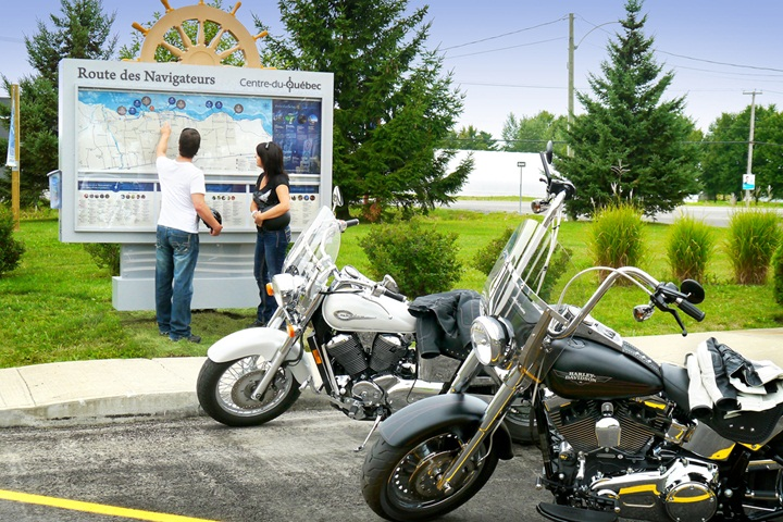 Motorcycle package - 1 night - Motel Bécancour