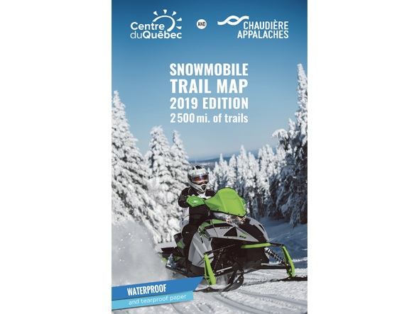 Quebec Snowmobile Trail Map on