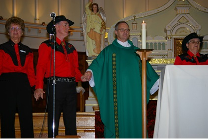Festival country & folklorique de Plessisville - Country style mass