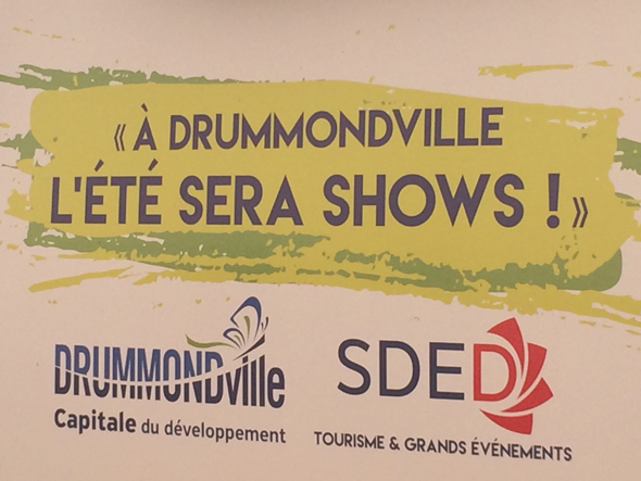 Blogue - Drummondville été SHOWS - Affiche